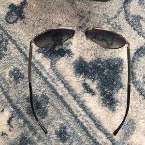 CHANEL Accessories - Chanel denim aviator sunglasses
